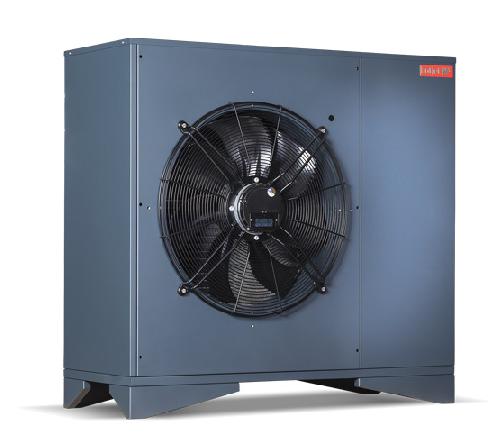 Hotjet toplotne črpalke zrak/voda